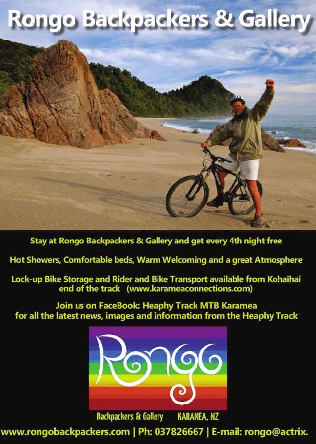 Rongo Heaphy MTB Ad