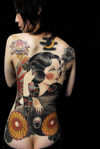 Yakuza Japanese Sleeve Tattoo