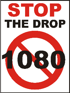1080 Stop the Drop Logo