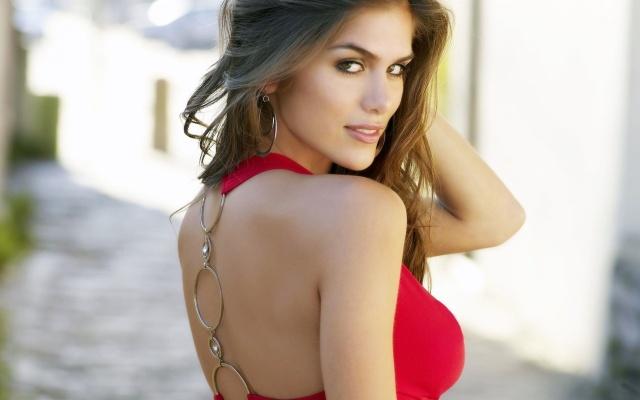 beautiful-anahi-gonzales-red-dress-1920x1200