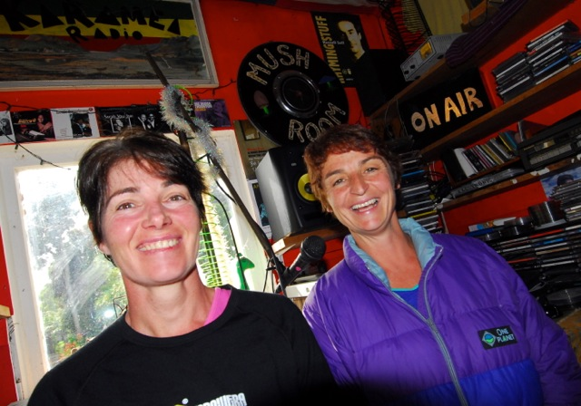 Vicki Quinn (left) and Vicki Woolley…TraiRunners