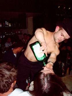 NO BYLINE... N49ck310 The Saint Bar in St Kida. Pic. Supplied INI99676.