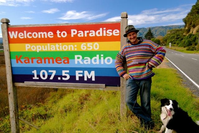 Karamea Radio Sign