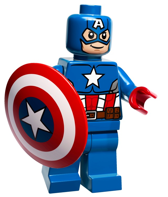 Captain-America-Minifigure