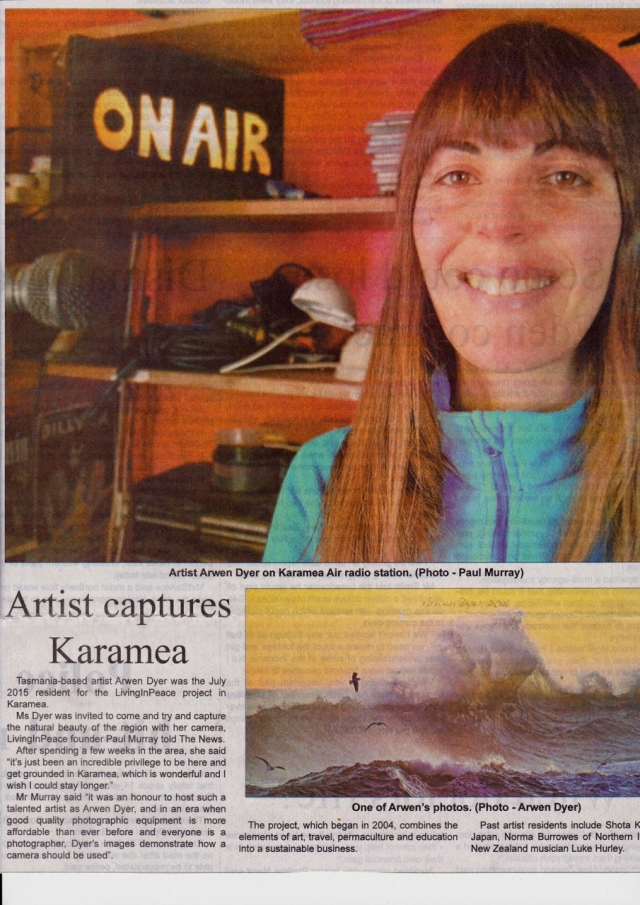 Arwen Dyer Article Westport News July 27 2015